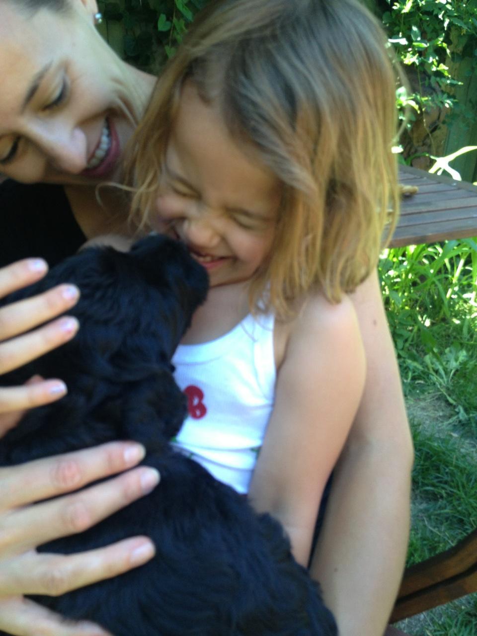 Puppies and children!