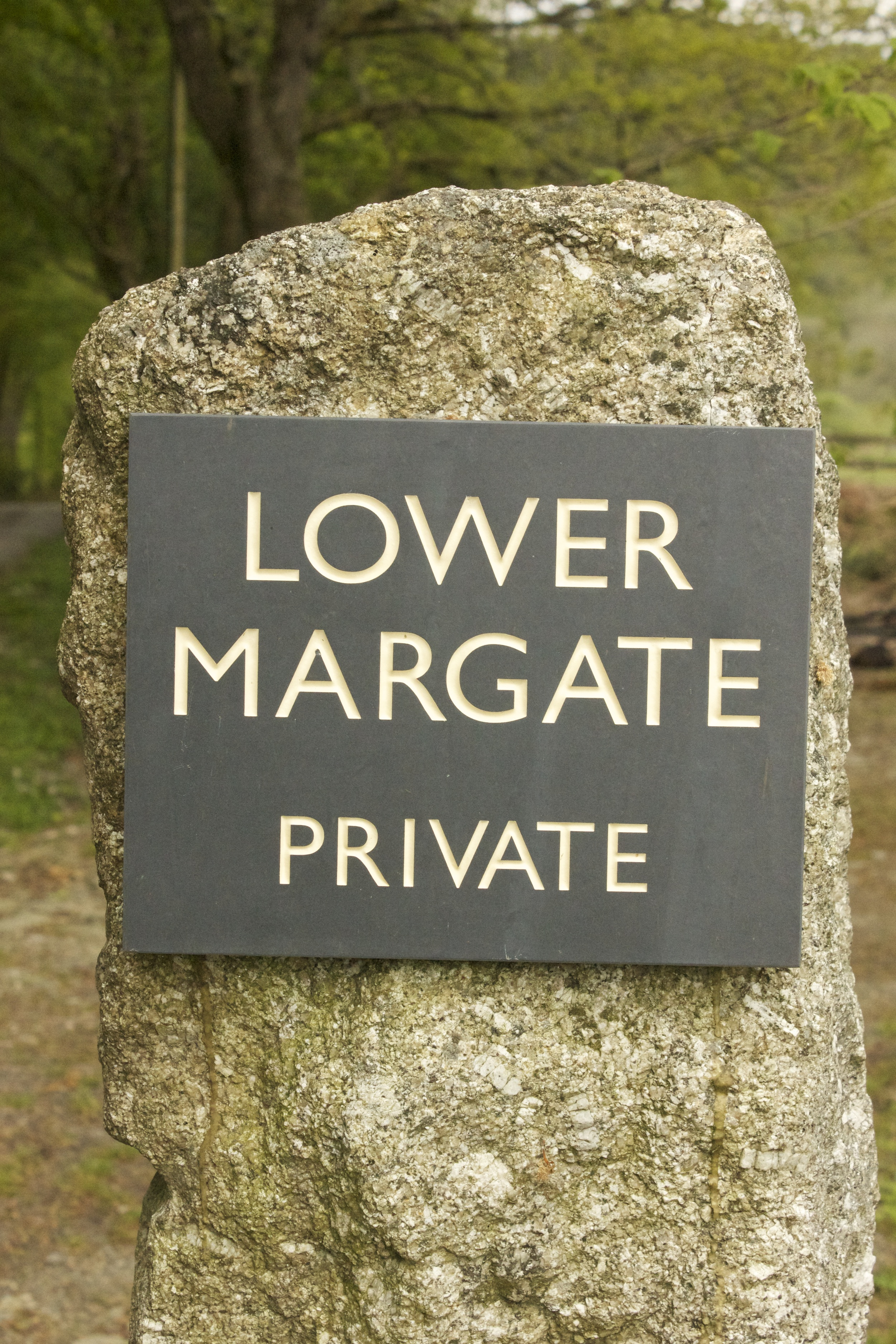 Entrance to Lower Margate.