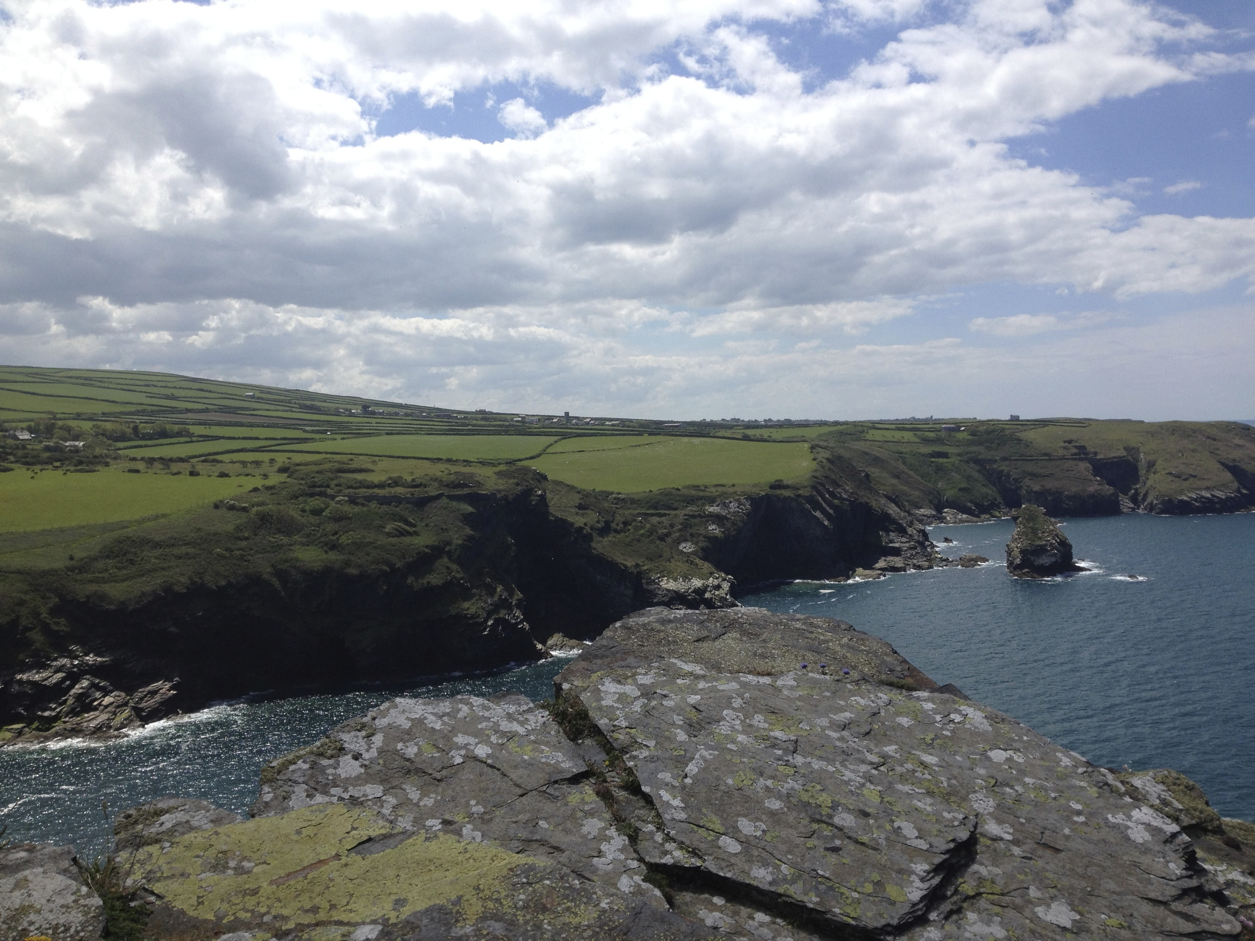 The coast at Boscastle