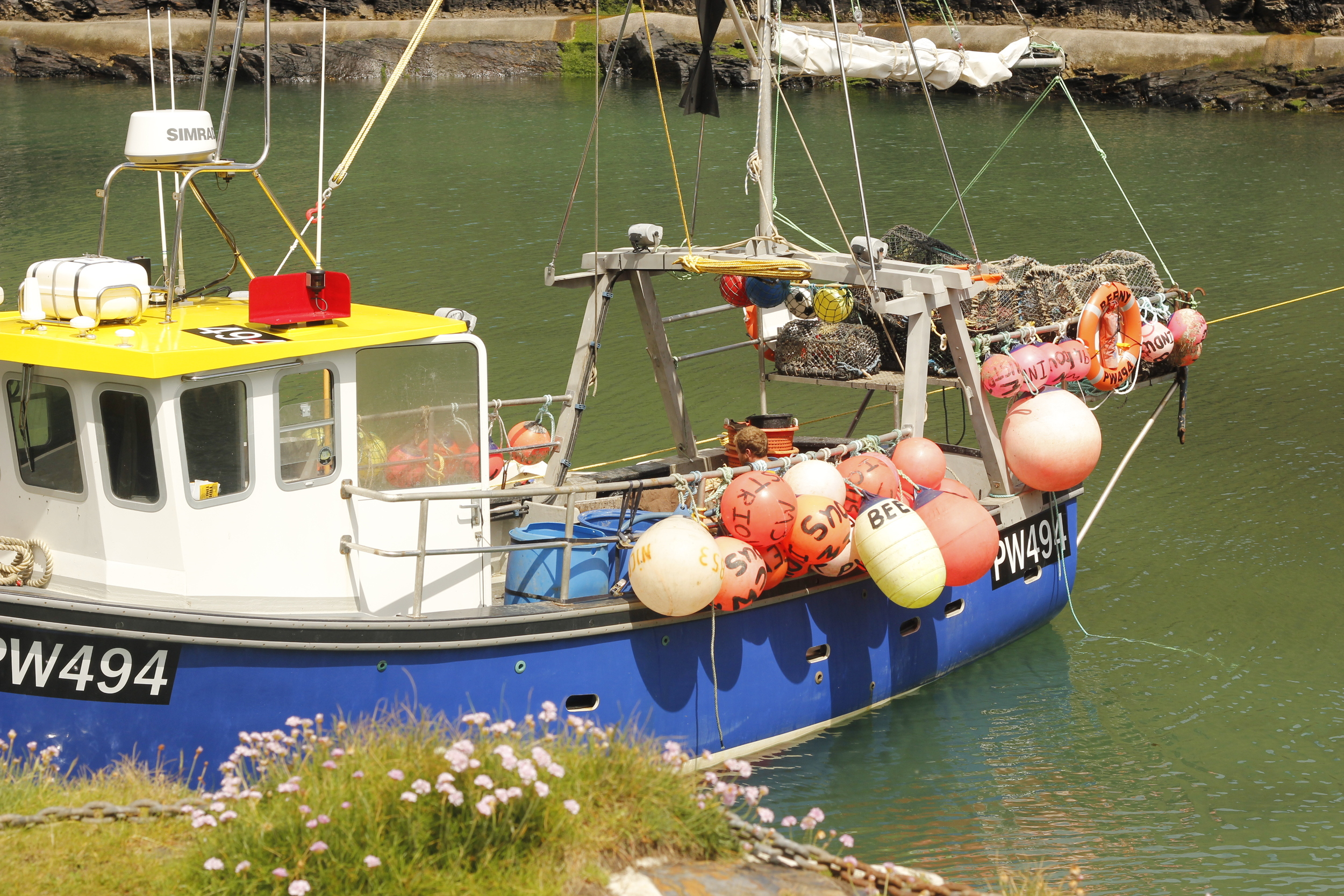 A Cornish fishing boat