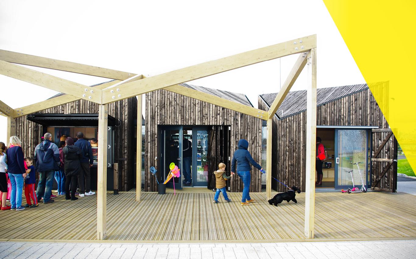 Kelpies Visitor Facilities, Falkirk