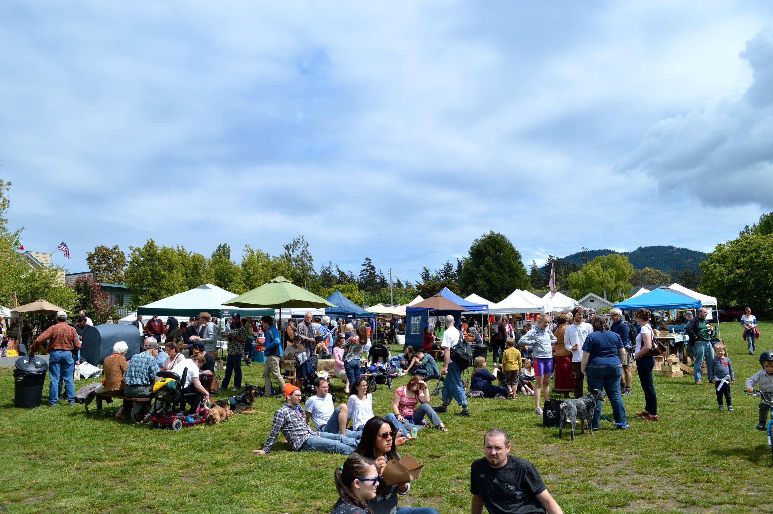 Saturday Farmers Market @ the Village Green - Orcas Island