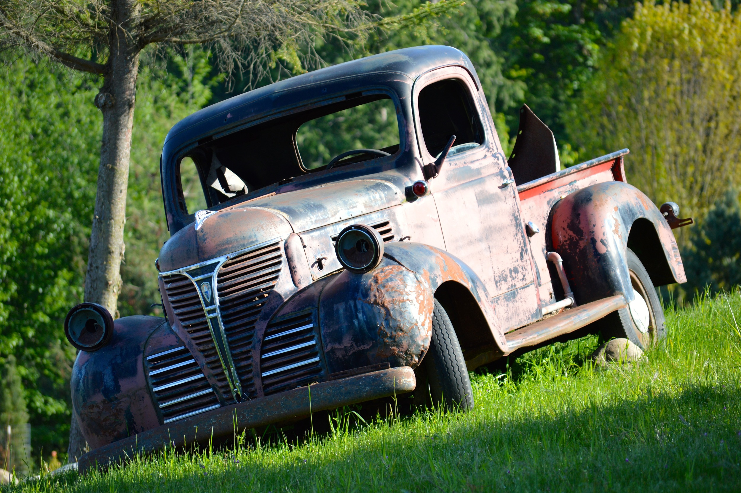 Old Truck near Brewery