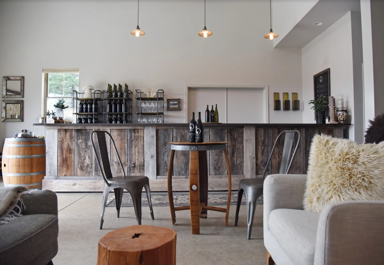 Orcas Island Winery Tasting Room & retail shop