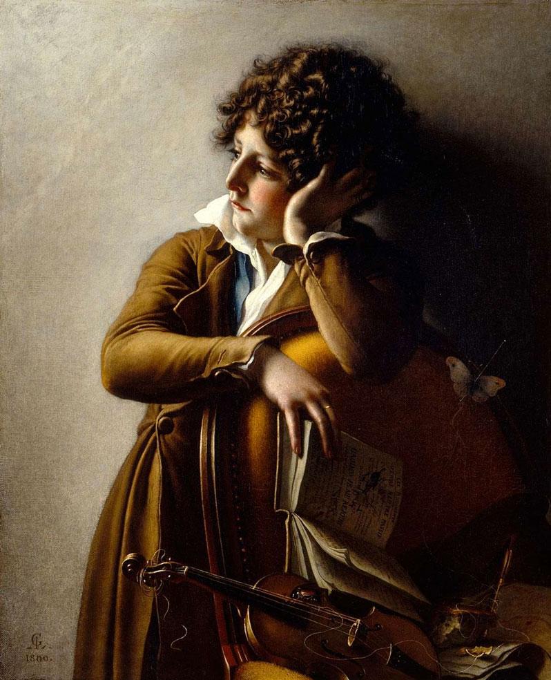 Anne-Louis Girodet Benoît Agnès Trioson  , 1800