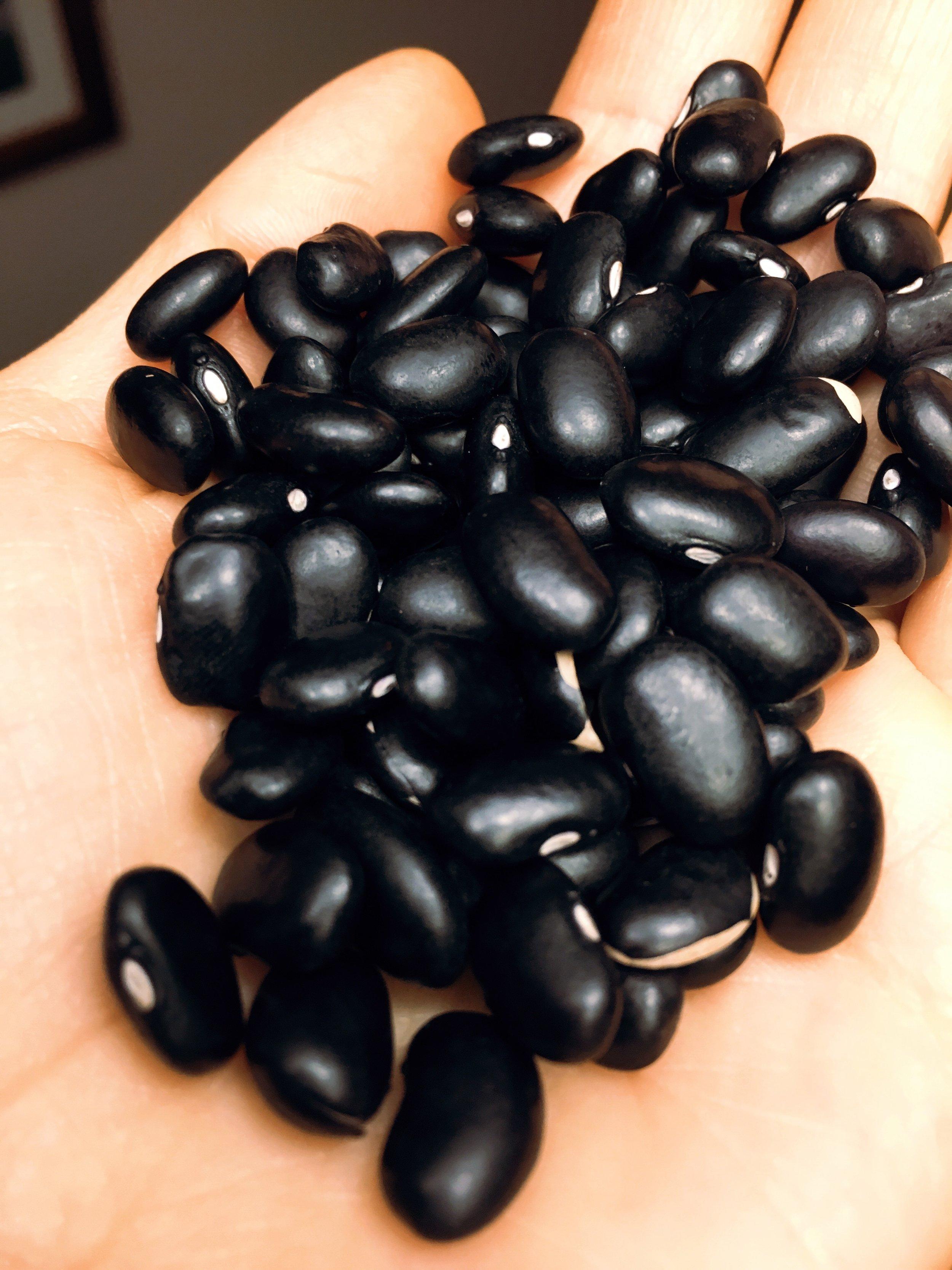 Black beans -