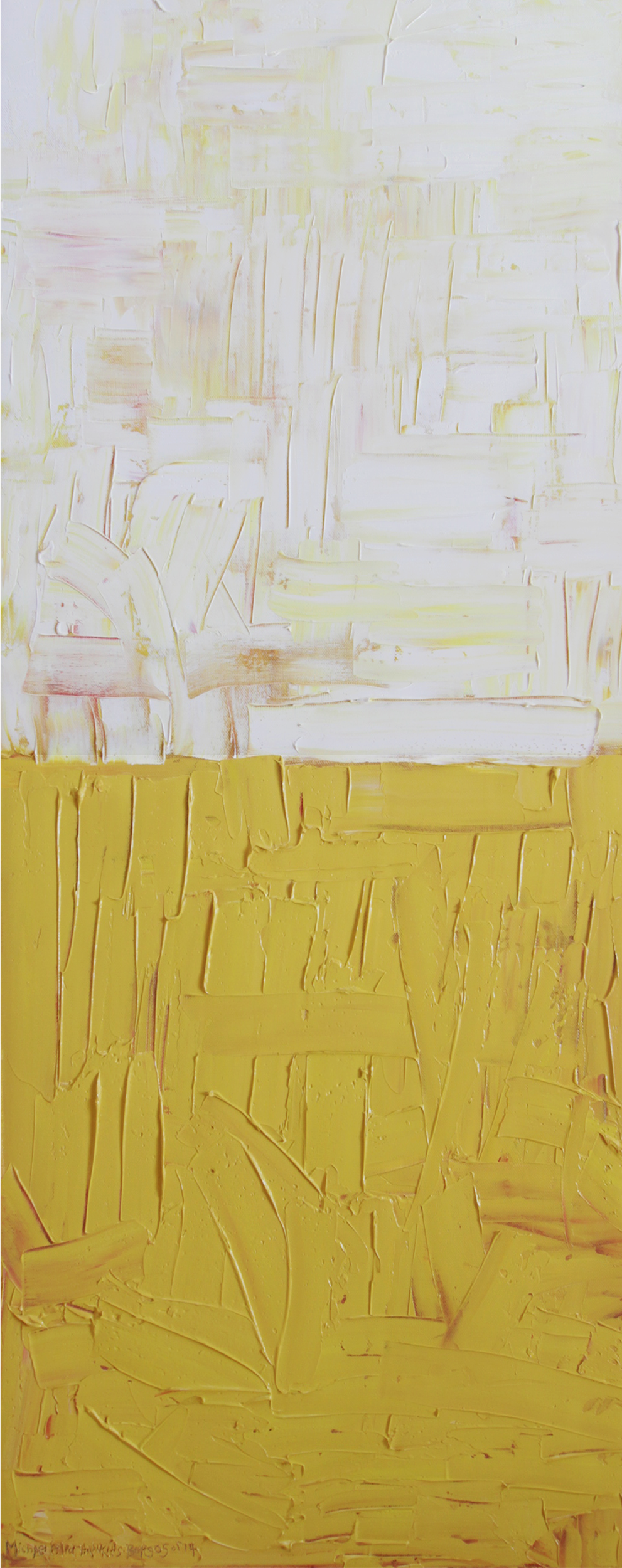 Yellow Field<br> <br>oil on canvas