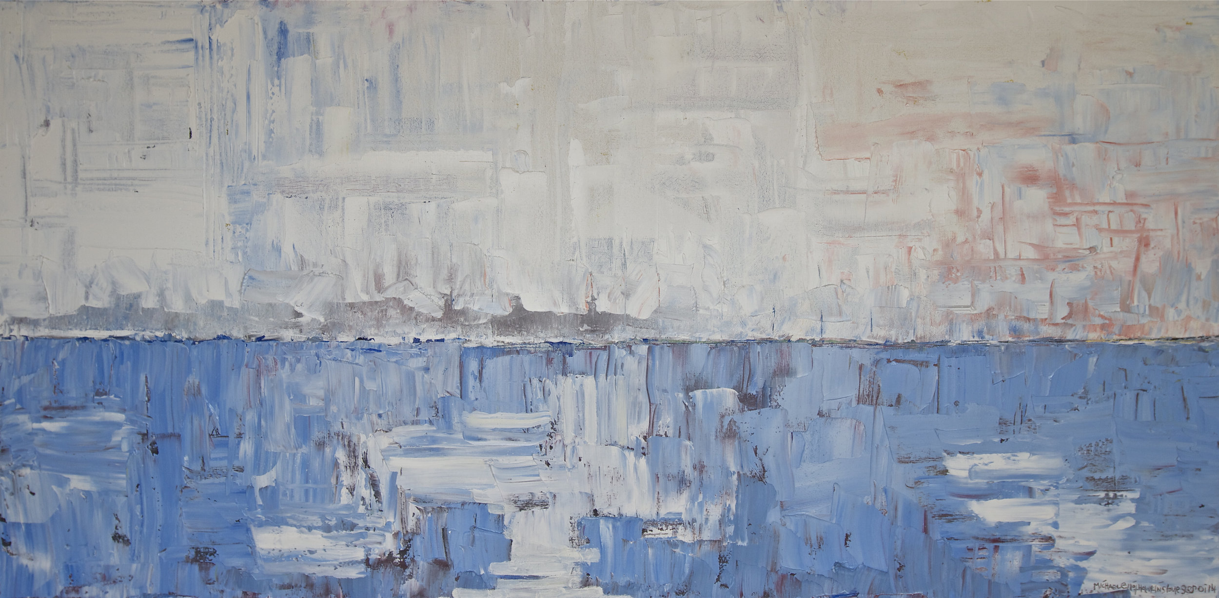 Cold Water<br> <br>oil on canvas