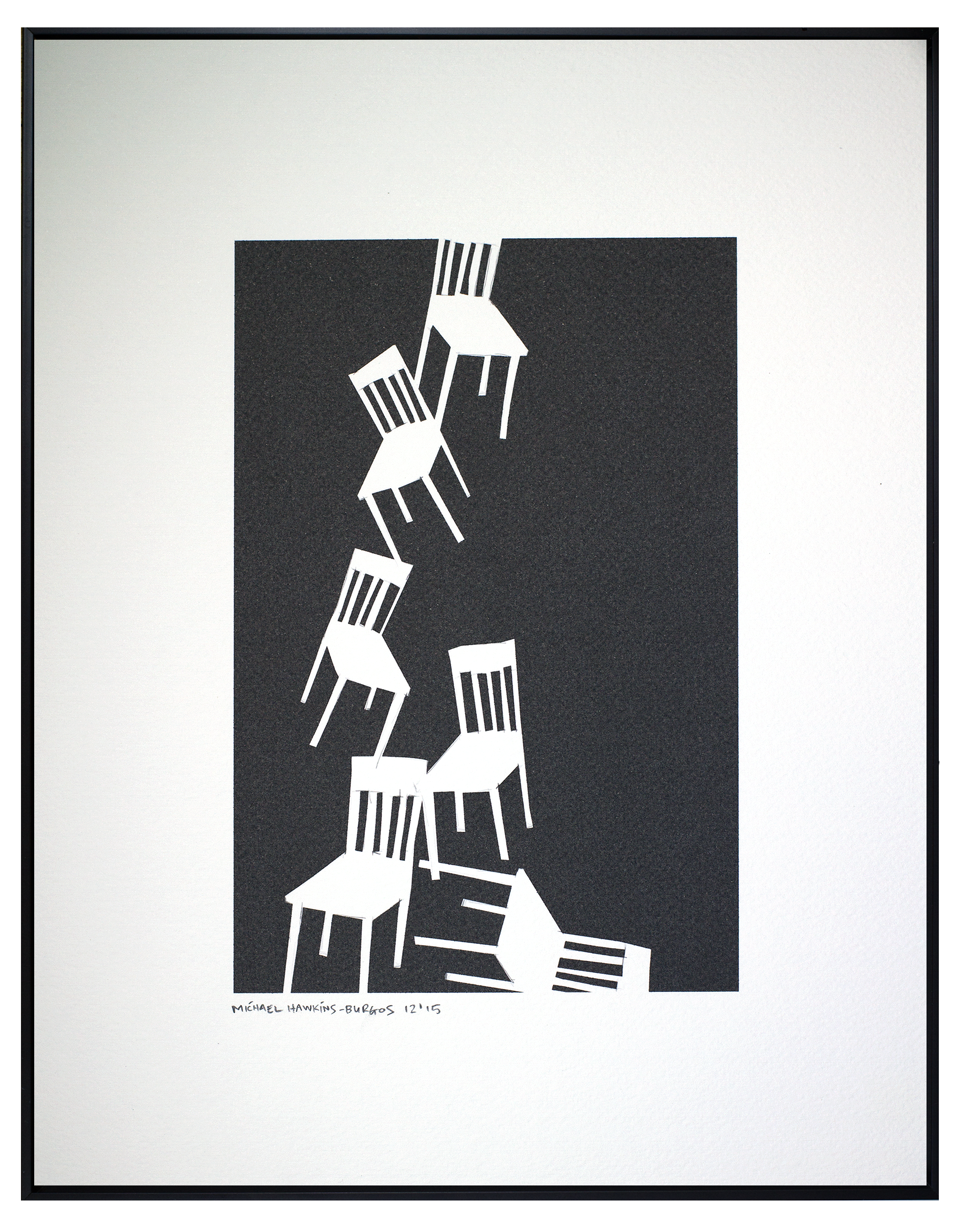 """Chairs<br> <br>11x14"""""""