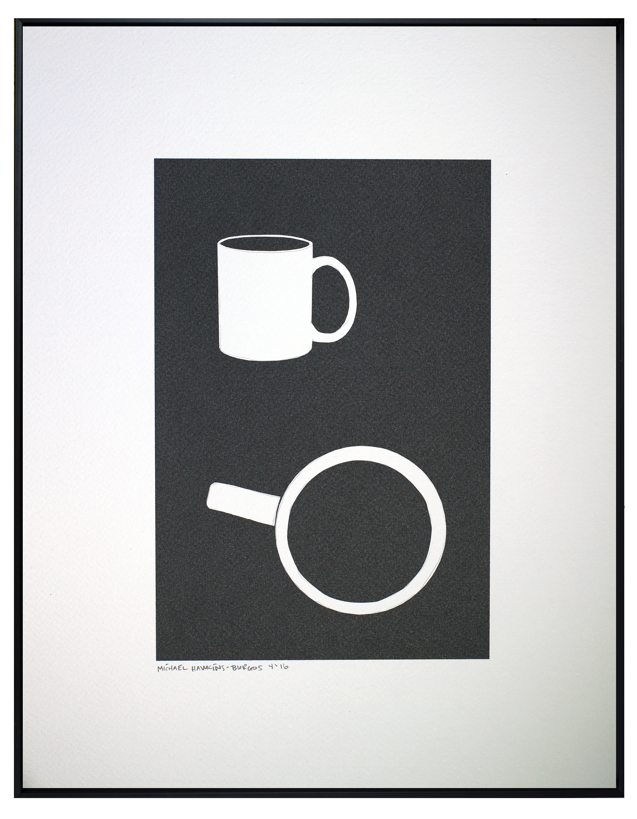 """Coffee Cup<br> <br>11x14"""""""