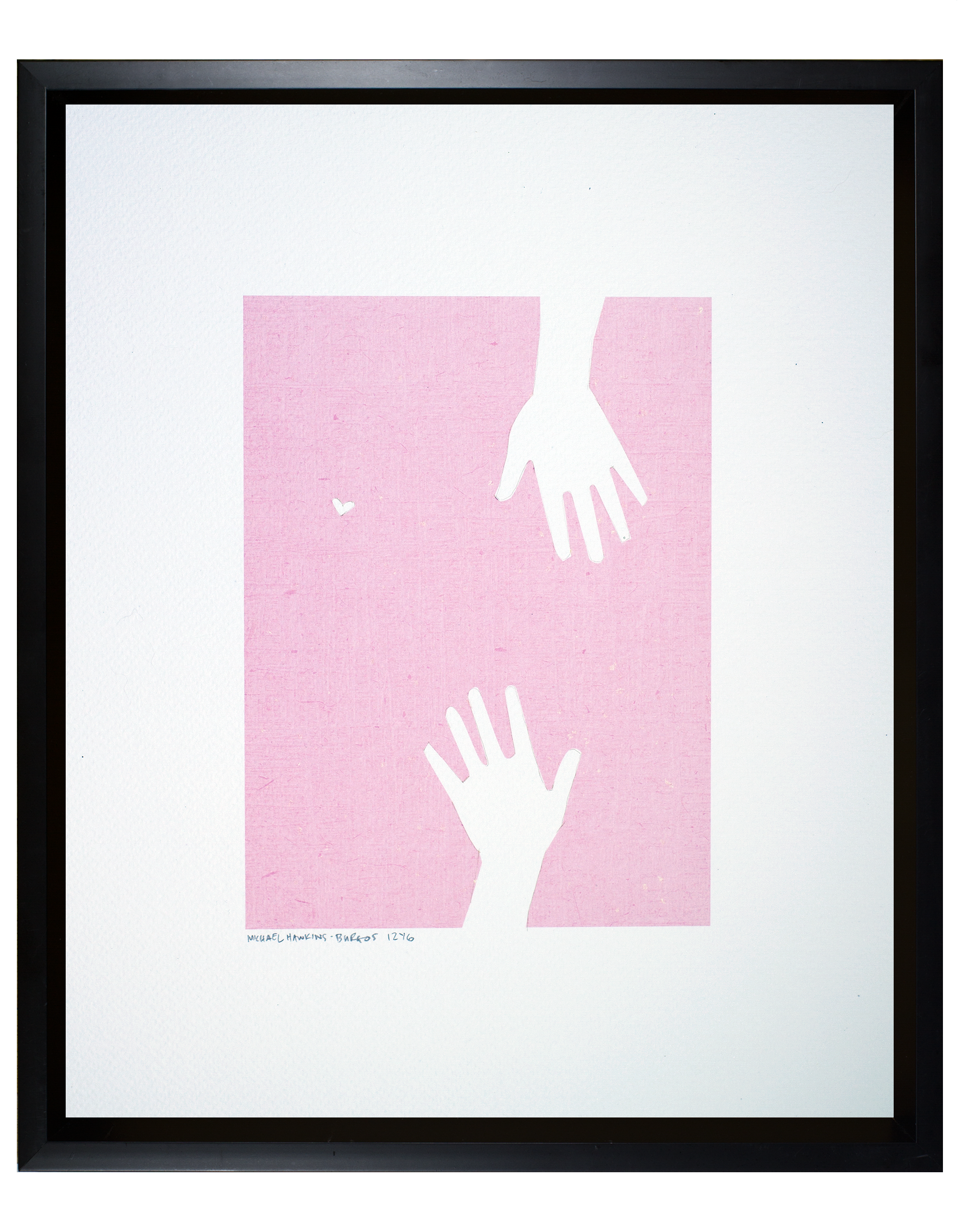 """Love and Hands<br> <br>11x14"""""""