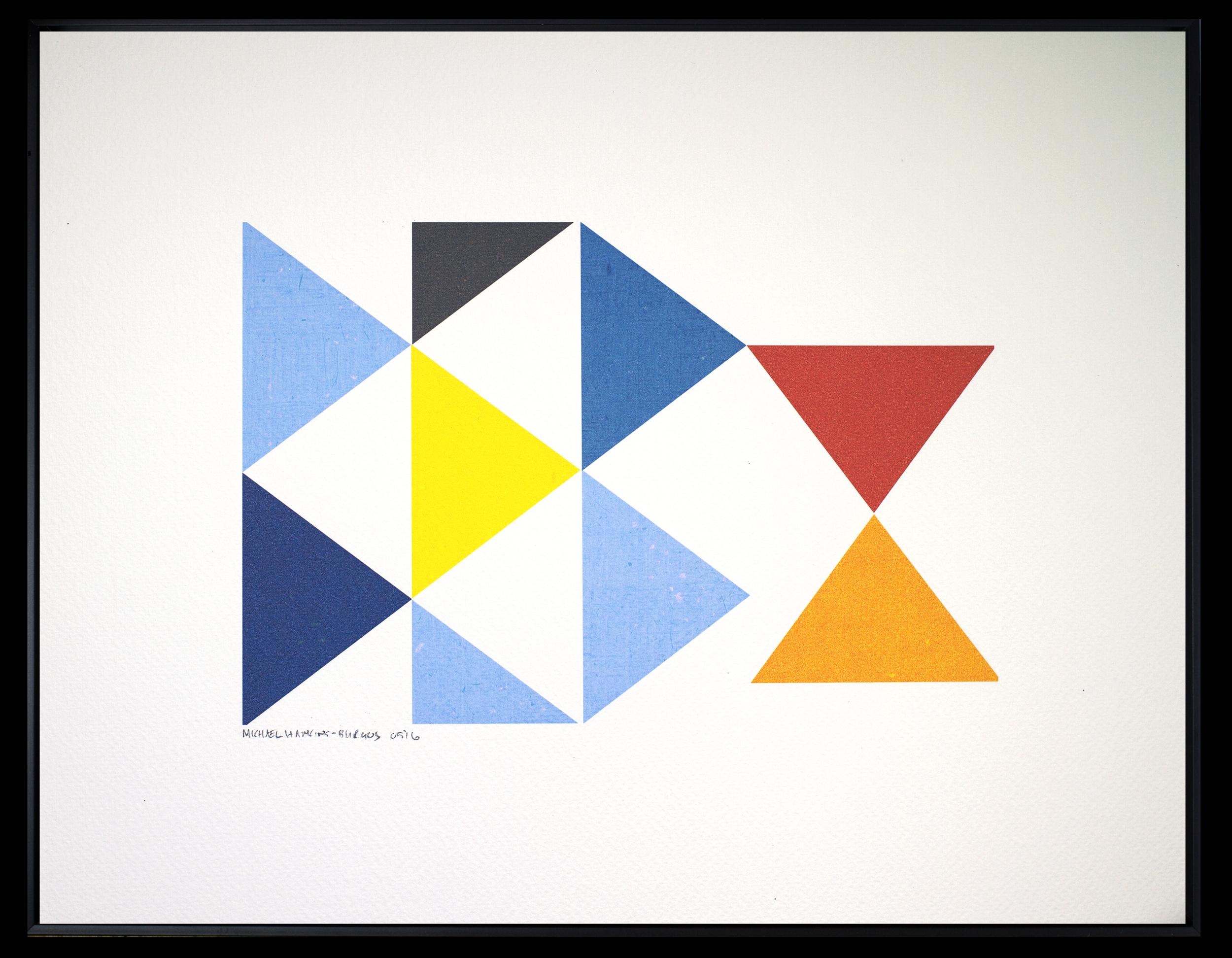 "Triangles<br> <br>11x14"""