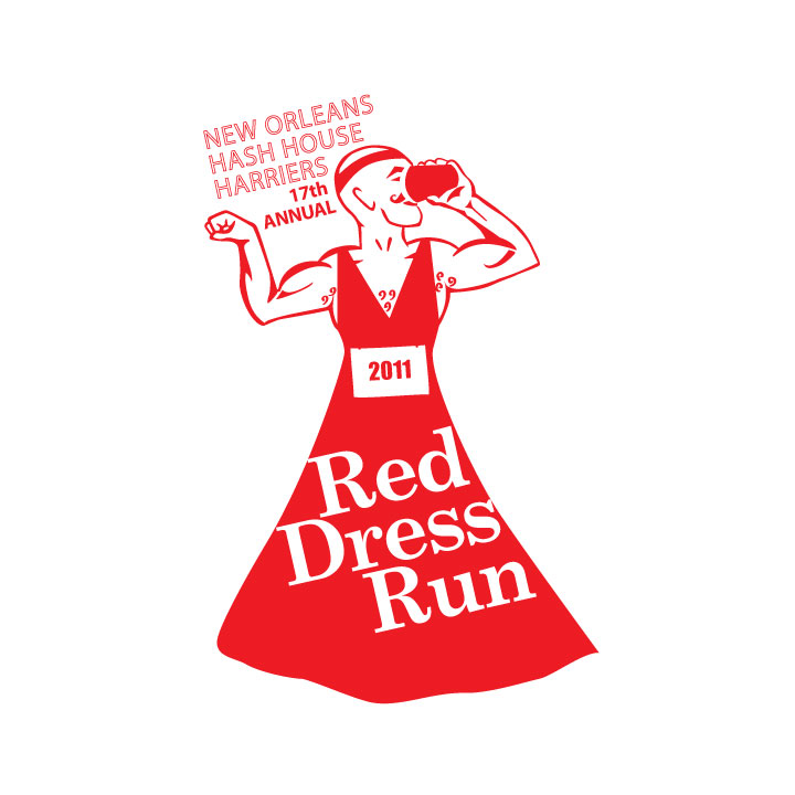 Red Dress Run 2011