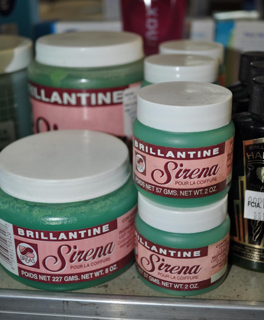 La Brillantina Sirena para el cabello era de uso común para el tiempo de nuestros abuelos. Foto: Pamy Rojas
