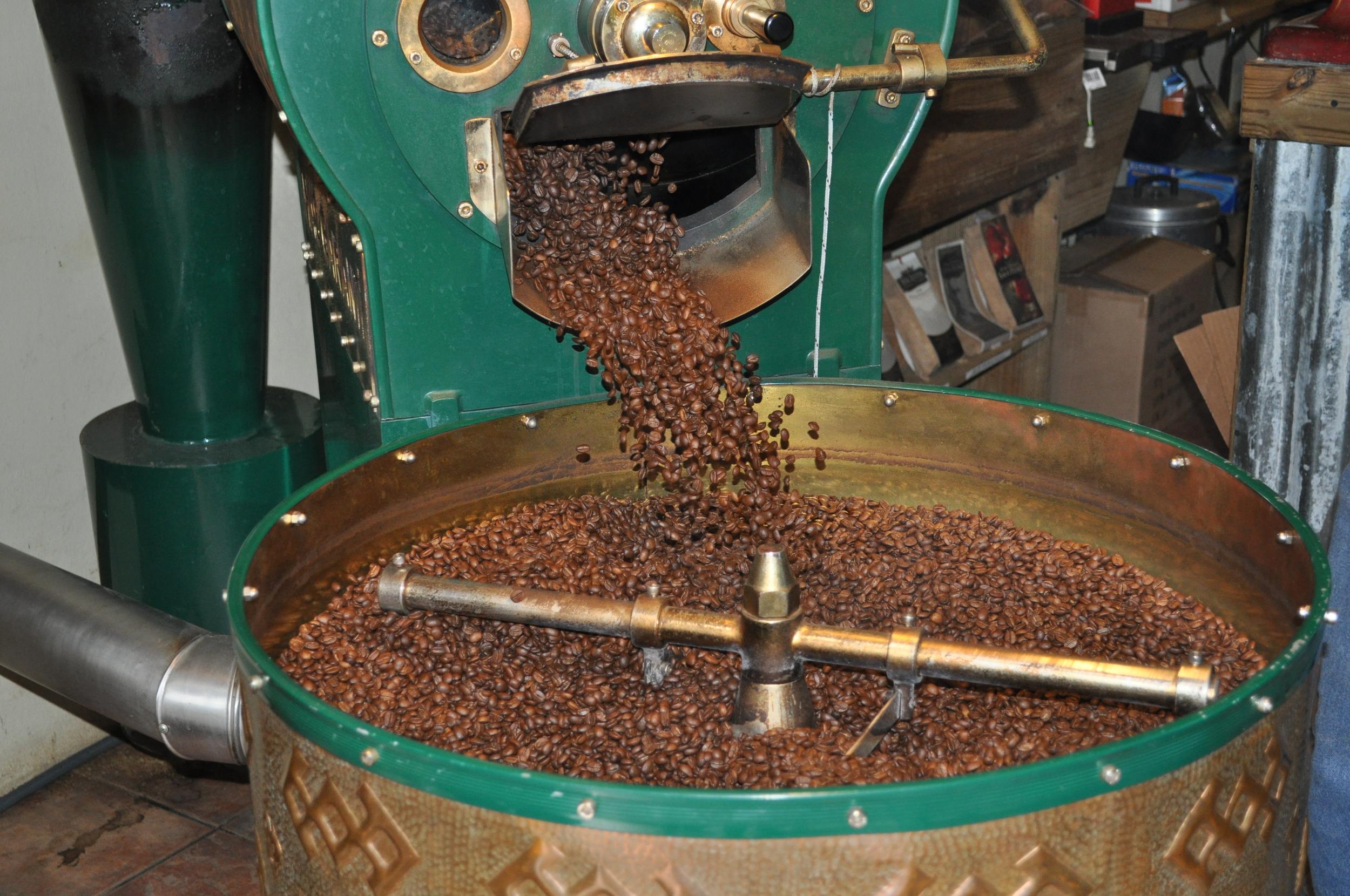 El café de la Hacienda San Pedro es artesanal. Foto: Pamy Rojas