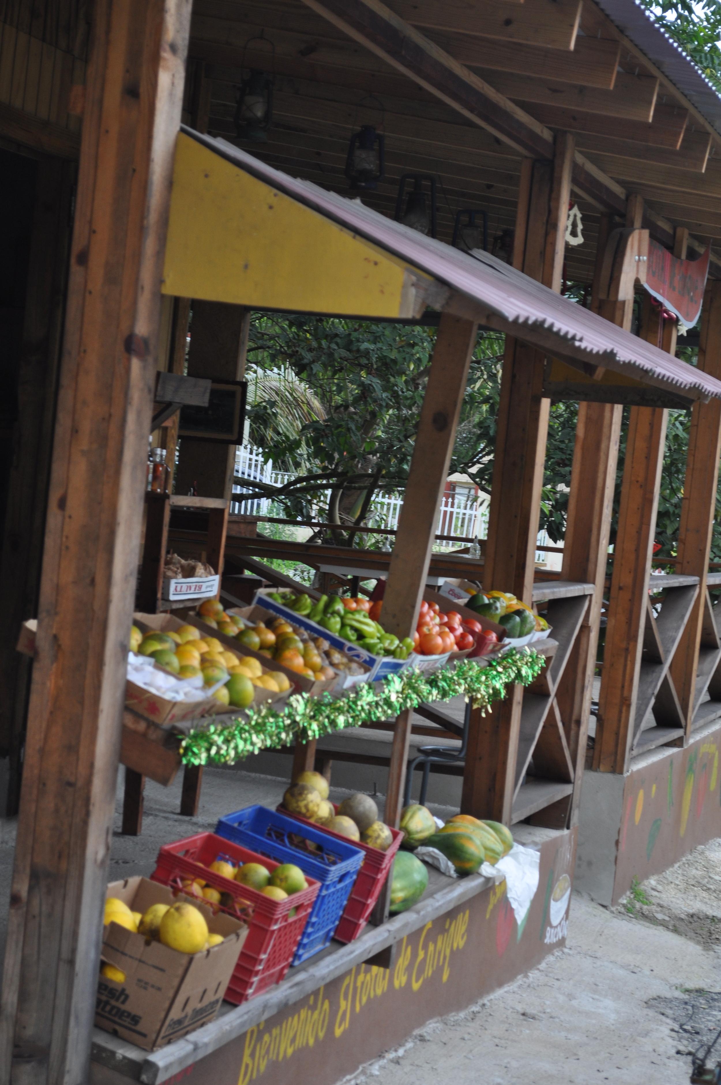 Fruits and vegetables in the Total de Enrique. Foto: Pamy Rojas