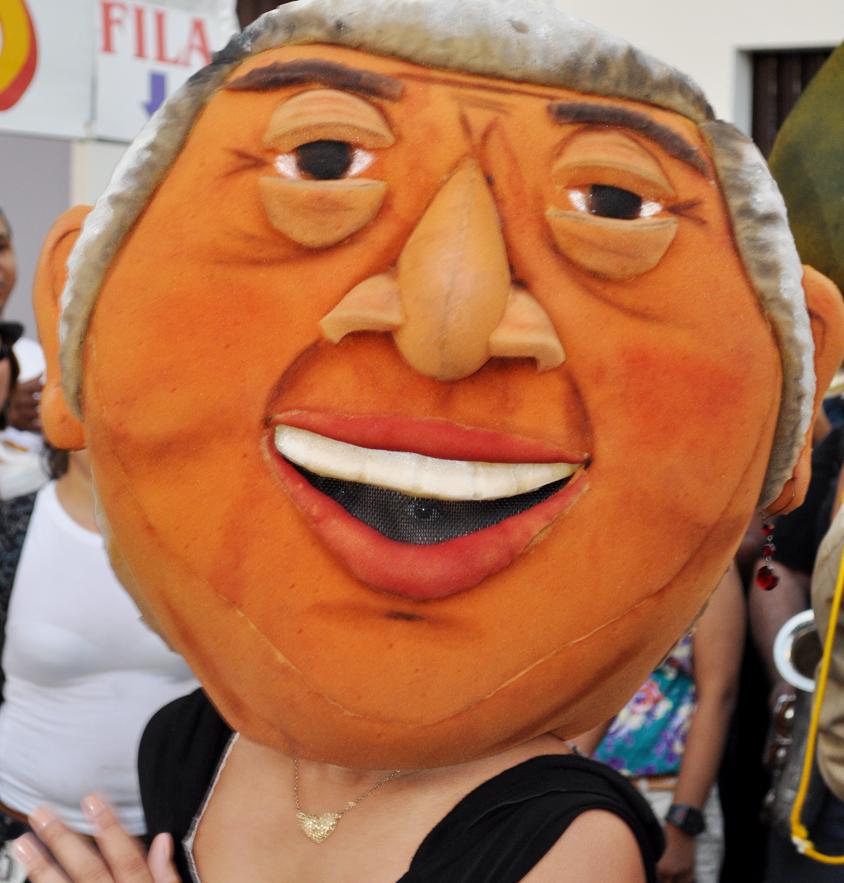 La representación de Alfonsa Villamonte Vera, quien era residente del Viejo San Juan y vendía billetes de la lotería. Foto: Pamy Rojas