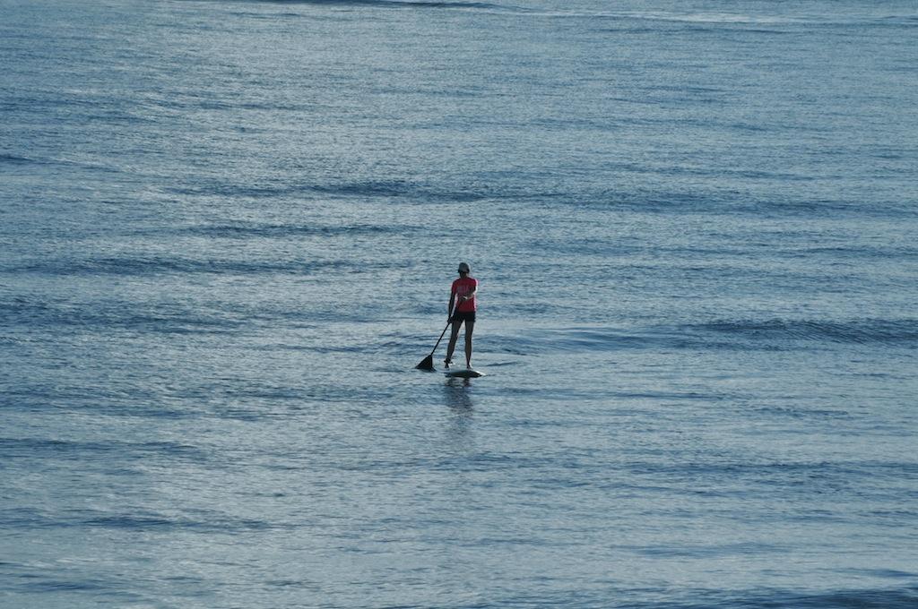 La playa Puerto Nuevo es perfecta para el deporte de paddleboard. Foto: Javier Vélez Arocho
