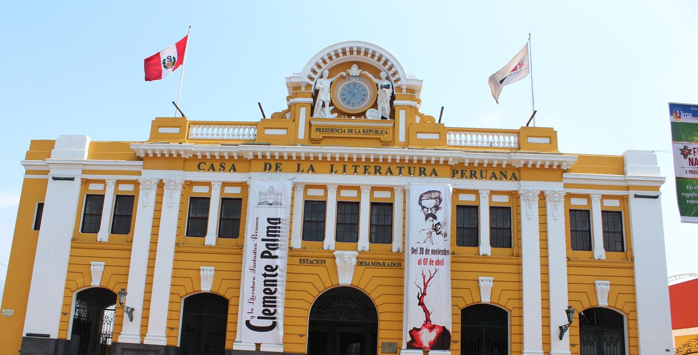 Casa de la Literatura Peruana, por supuesto. Foto: Pamy Rojas