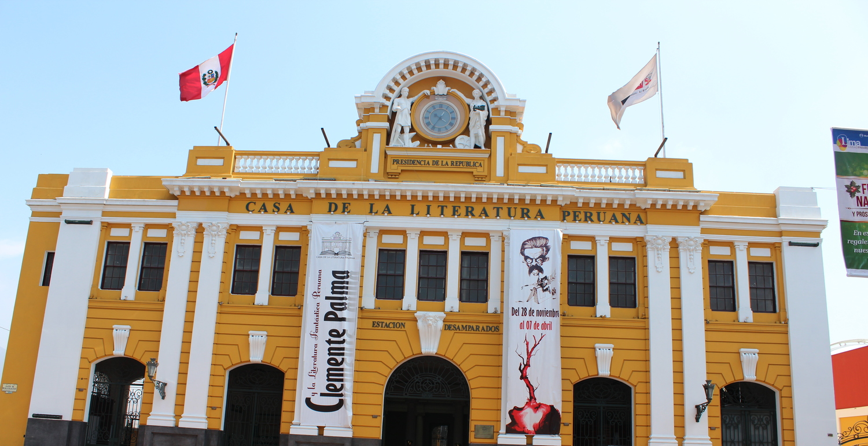 Peruvian literature house, of course. Photo: Pamy Rojas