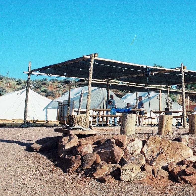 El área común donde se servían las comidas. Foto: Fernando Rojas
