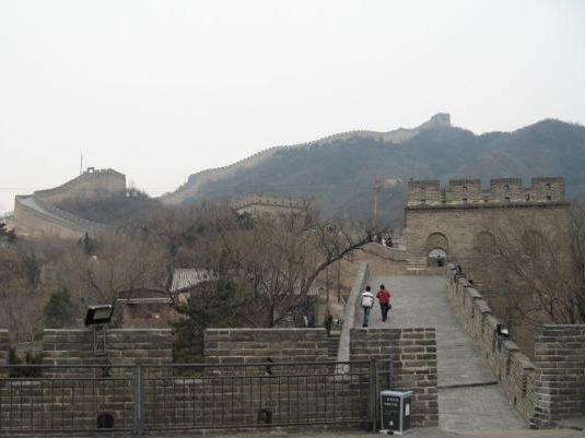 The Great Wall of China. Photo: Fernando J. Rojas