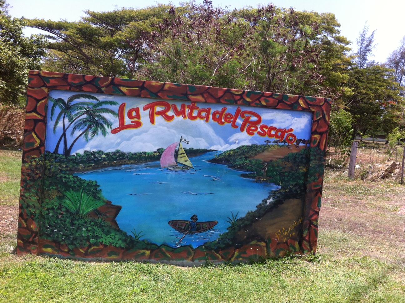 En nuestro primer día degustamos parte de la gastronomía de  Guayama . La Península de Pozuelo es conocida como la ruta del pescao'.En la Villa Pesquera y en los restaurantes cercanos consigues mero, pargo o colirrubia frescos. Foto: Bruny Nieves