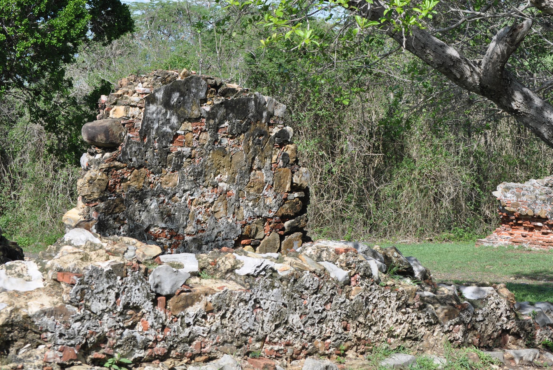 Las ruinas están localizadas cerca de la entrada de la reserva. Foto: Pamy Rojas