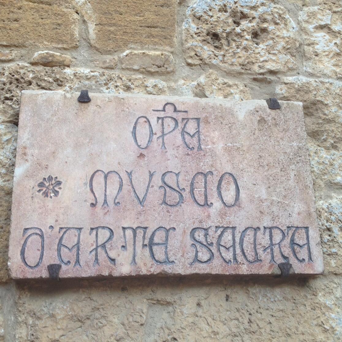 San Giminiano cuenta con reconocidas obras de arte religioso de los siglos catorce y quince, expuestas en Iglesias y el propio Museo de Arte Sacro. Foto: Bruny Nieves