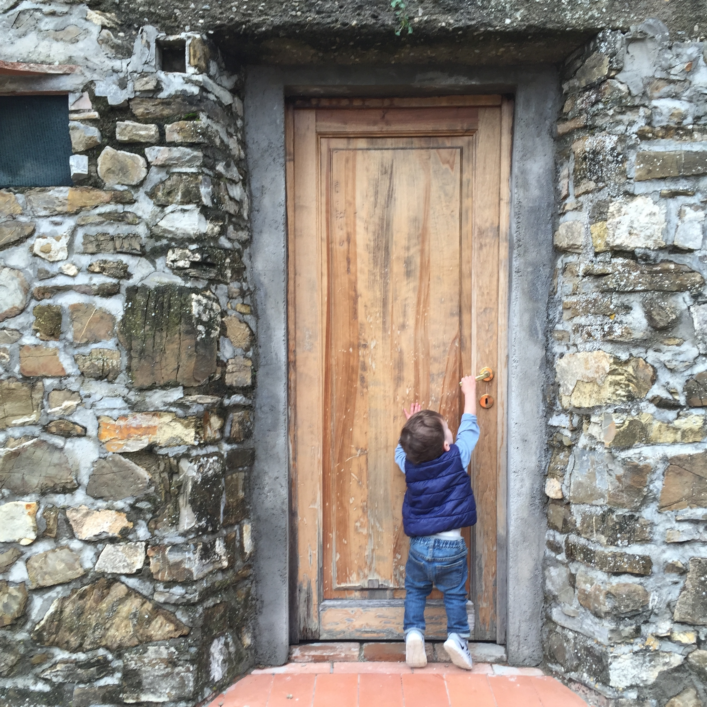 Entrada a nuestro apartamento de vacaciones en Poggio al Sole. Foto: Raymond Cuevas