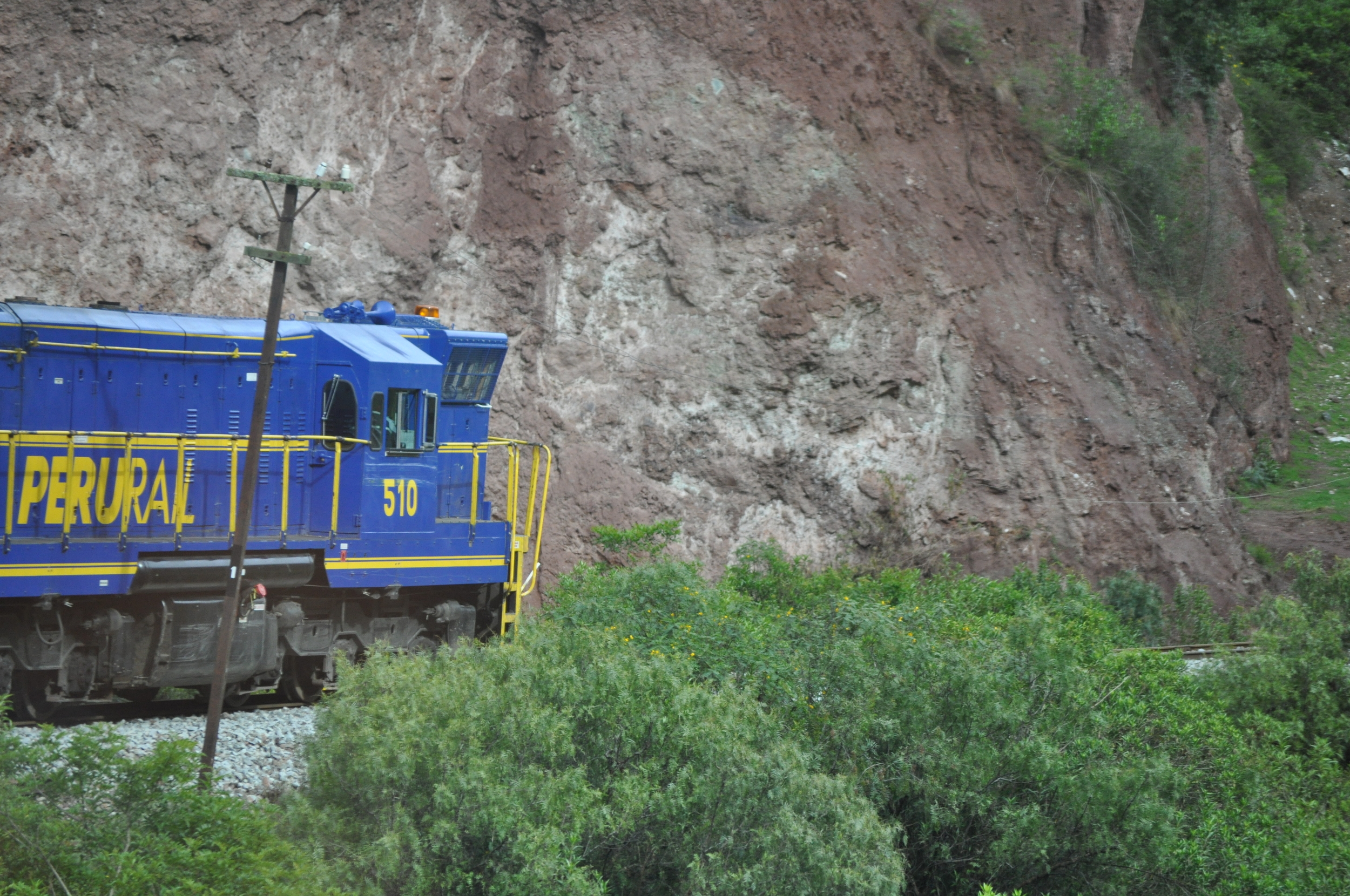 El trayecto en tren desde Cusco hacia Aguas Calientes dura aproximadamente tres horas. Foto: Pamy Rojas