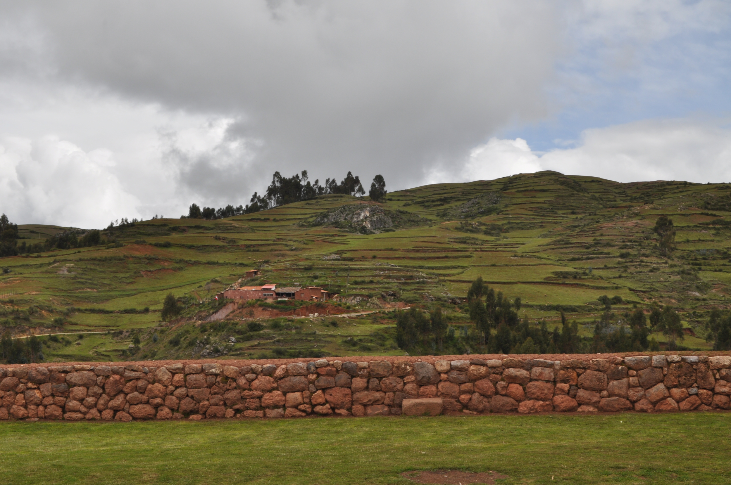 Este pueblo también se caracteriza por el paisaje que se vislumbra desde sus tierras. Foto: Pamy Rojas