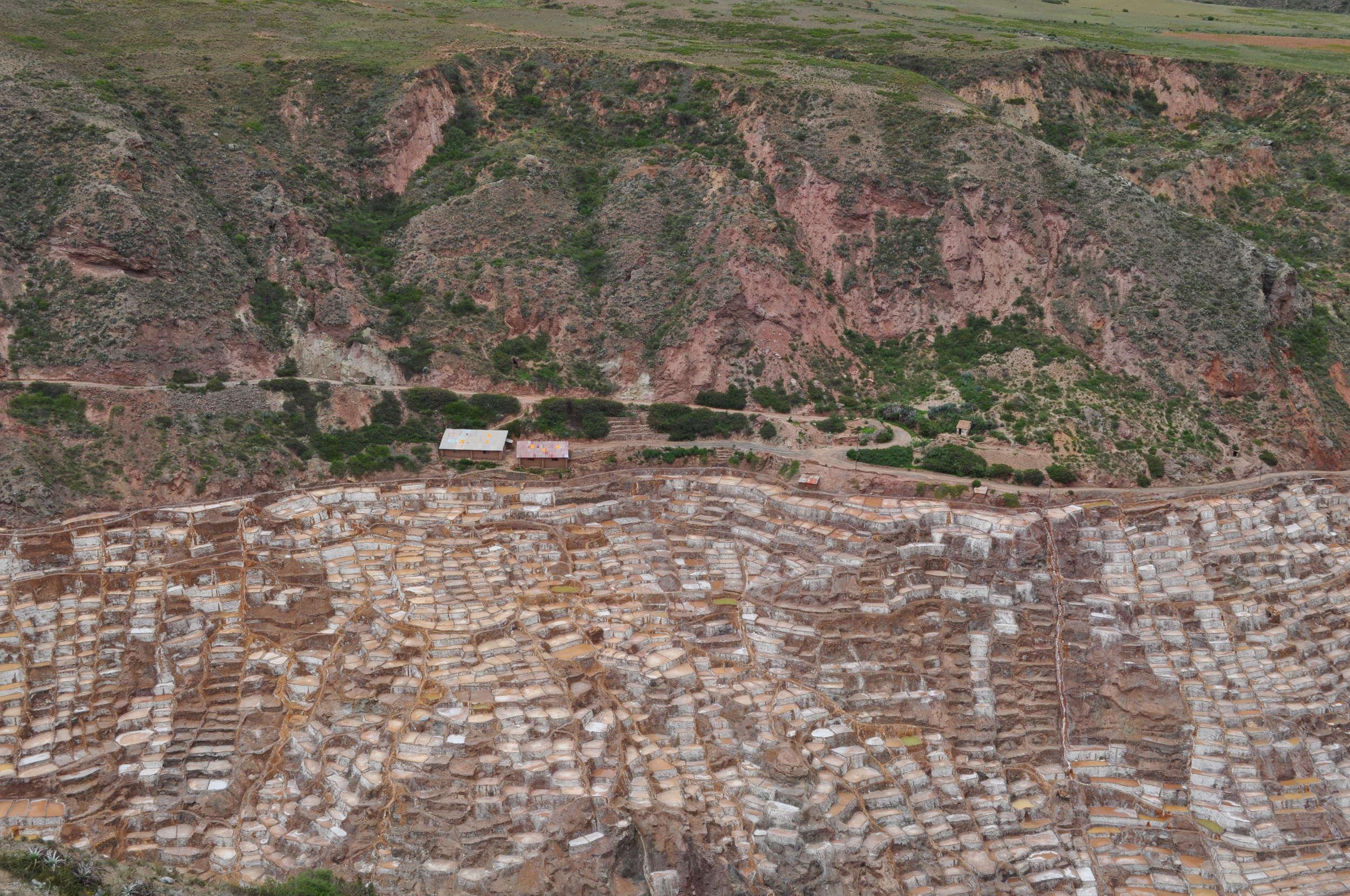 Las minas de sal datan de la época incaica. Foto: Pamy Rojas