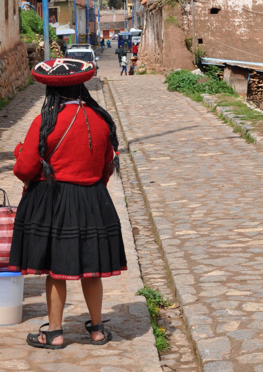 Gran parte de la población este lugar son quechuas. Foto: Pamy Rojas