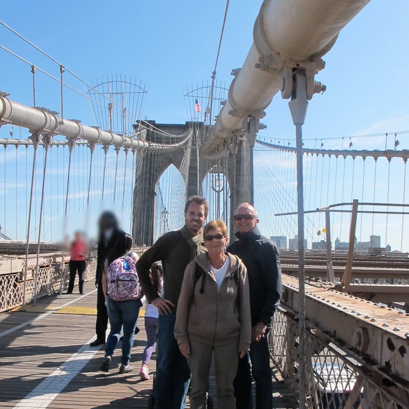 The Brooklyn Bridge is famous for being the first in the world where steel cables were used for suspension. Photo: Bruny Nieves