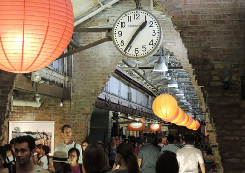 Chelsea Market is located in the 9th Avenue, between 15th and 16 Streets. Photo: Fernando M. Rojas