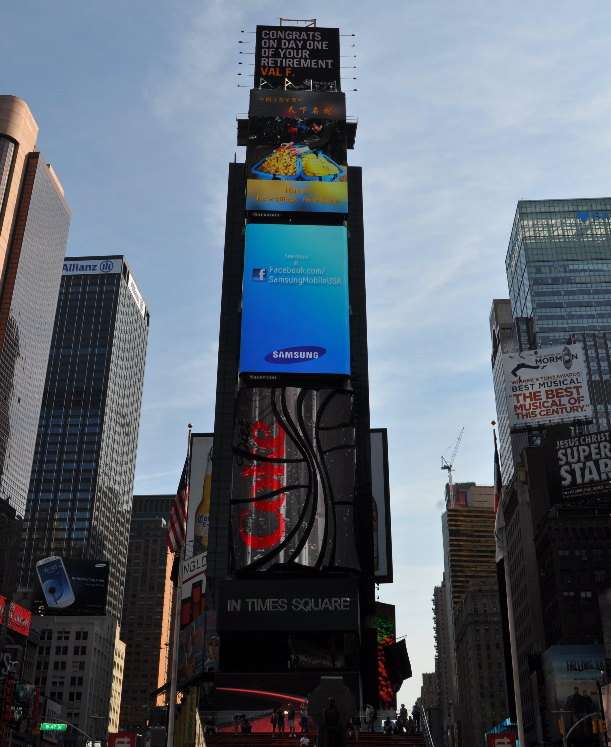 Siempre hay algo pasando en Times Square. Foto: Pamy Rojas