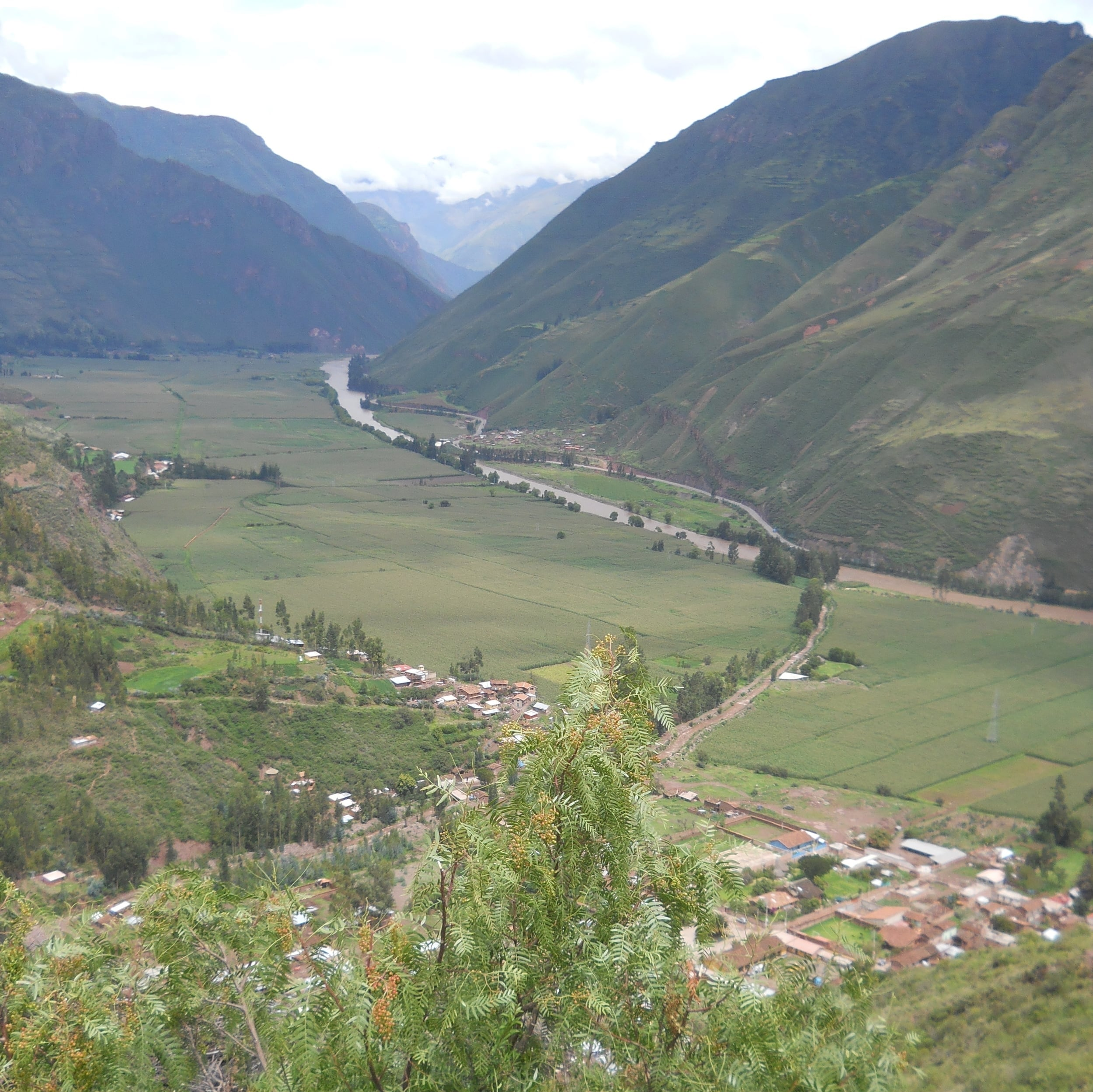 From the Mirador Taray you can contemplate the Sacred Valley. Photo: Fernando J. Rojas