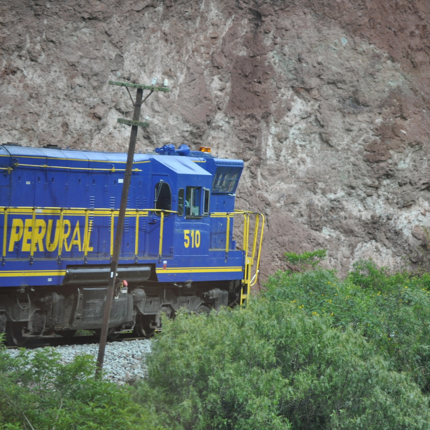 The train ride from Cusco to Aguas Calientes lasts approximately three hours. Photo: Pamy Rojas