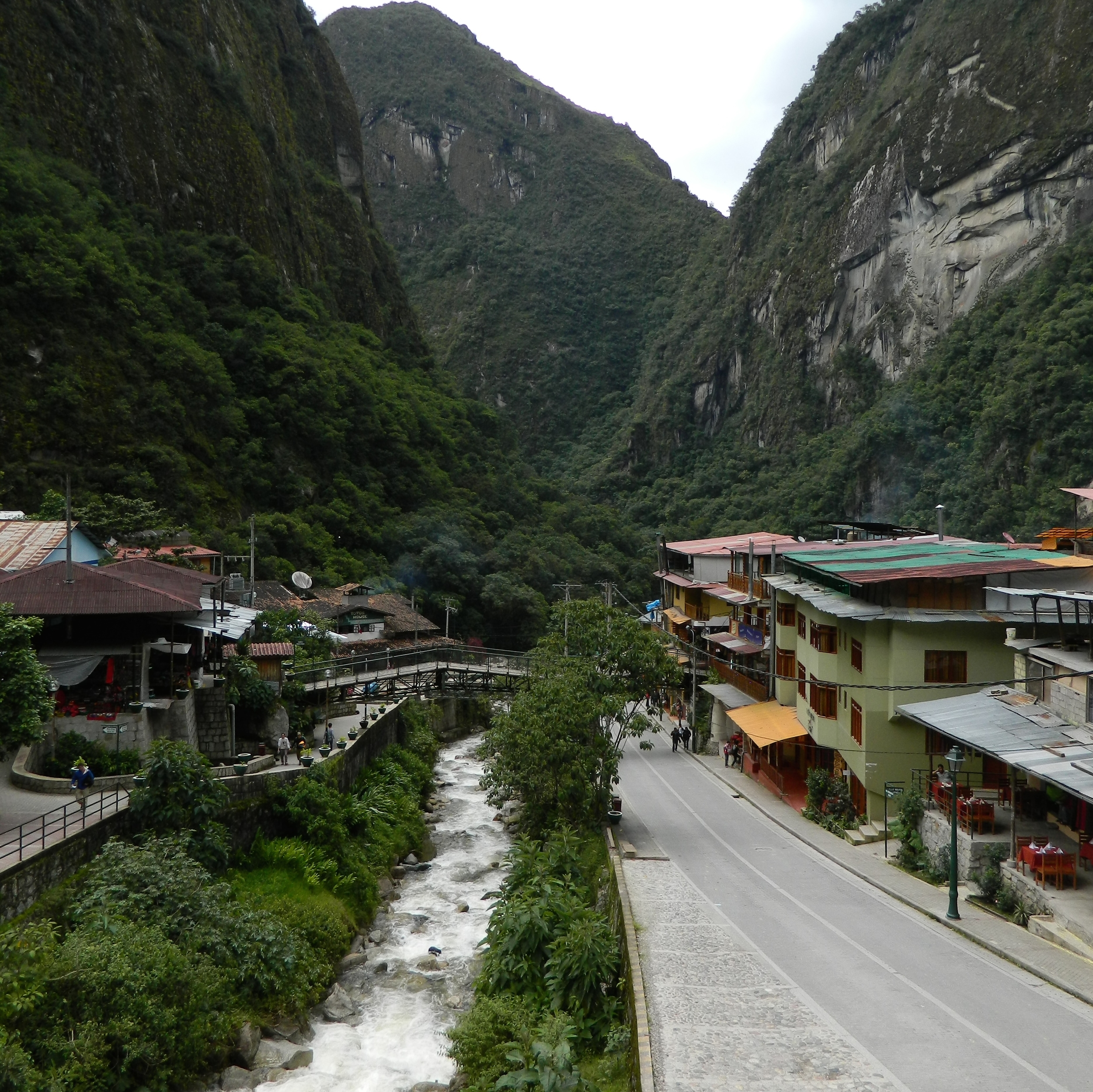 Aguas Calientes is found in the Department of Cusco, province of Urubamba. Photo: Alejandro Rodz. Rojas