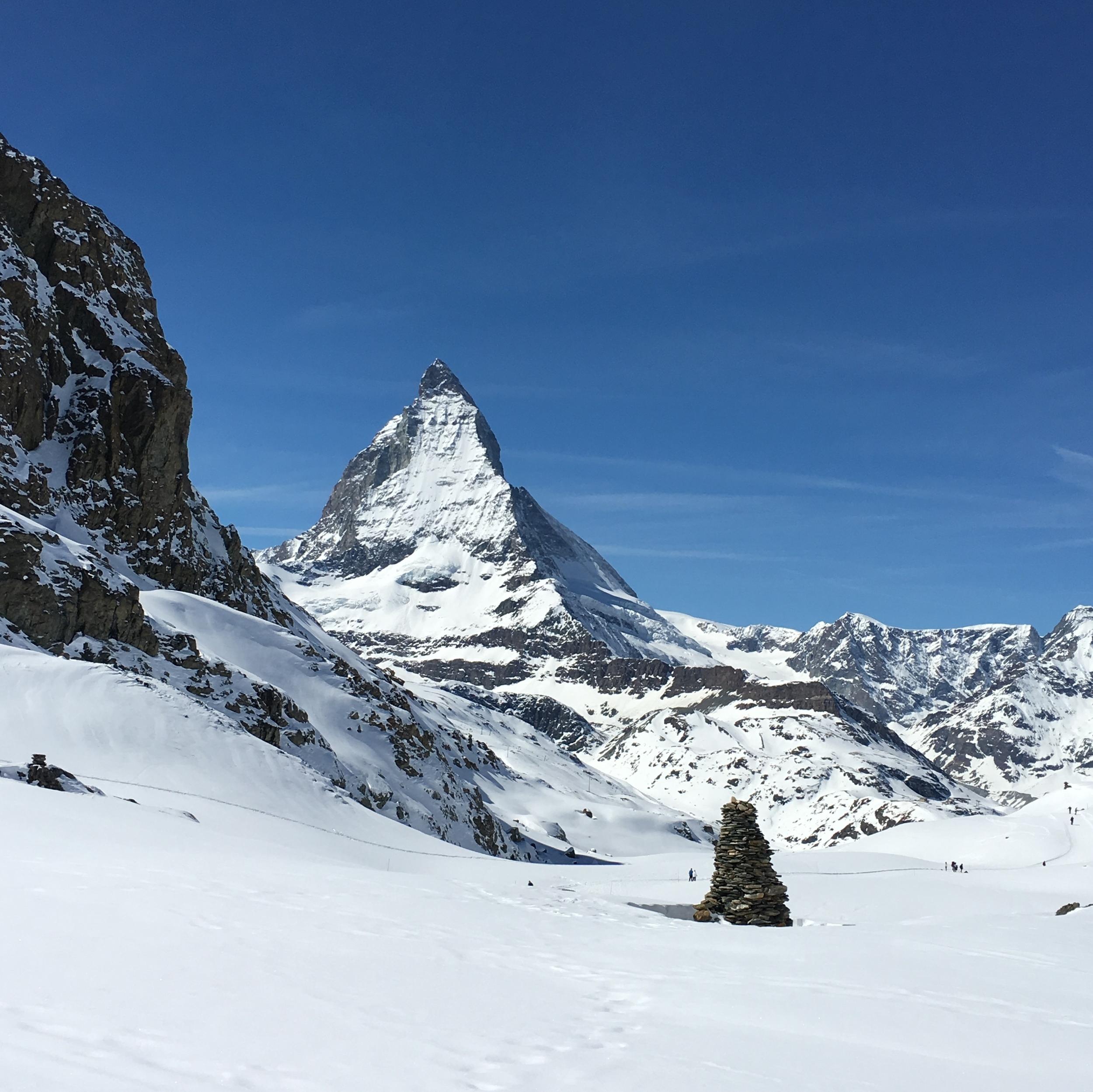 Formación en piedras imitando la forma del Matterhorn. Foto: Bruny Nieves