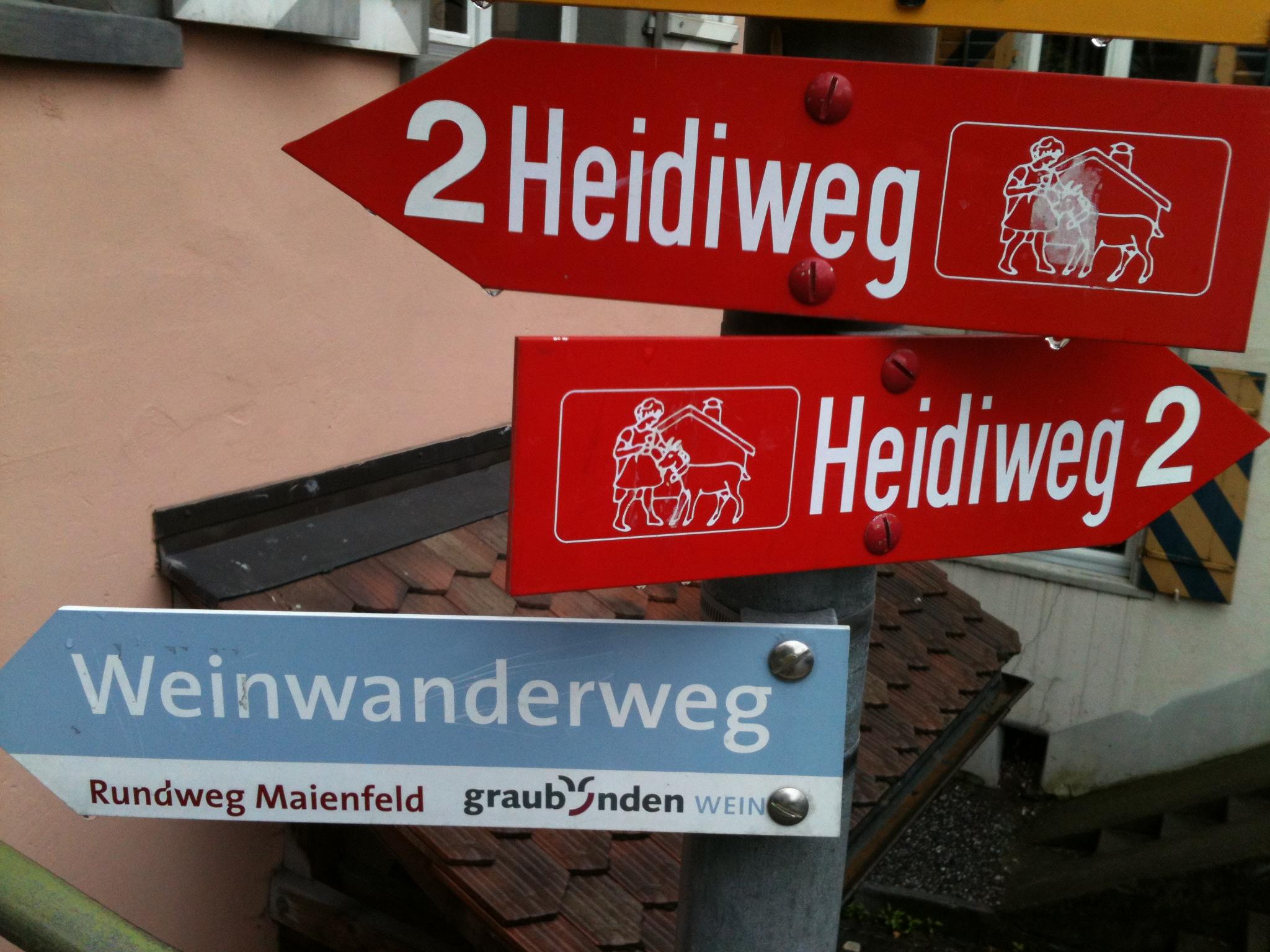 Este camino se encuentra en la ciudad de Mainfeld; recorre con los pequeños los parajes que inspiraron el cuento de Heidi. Foto: Bruny Nieves