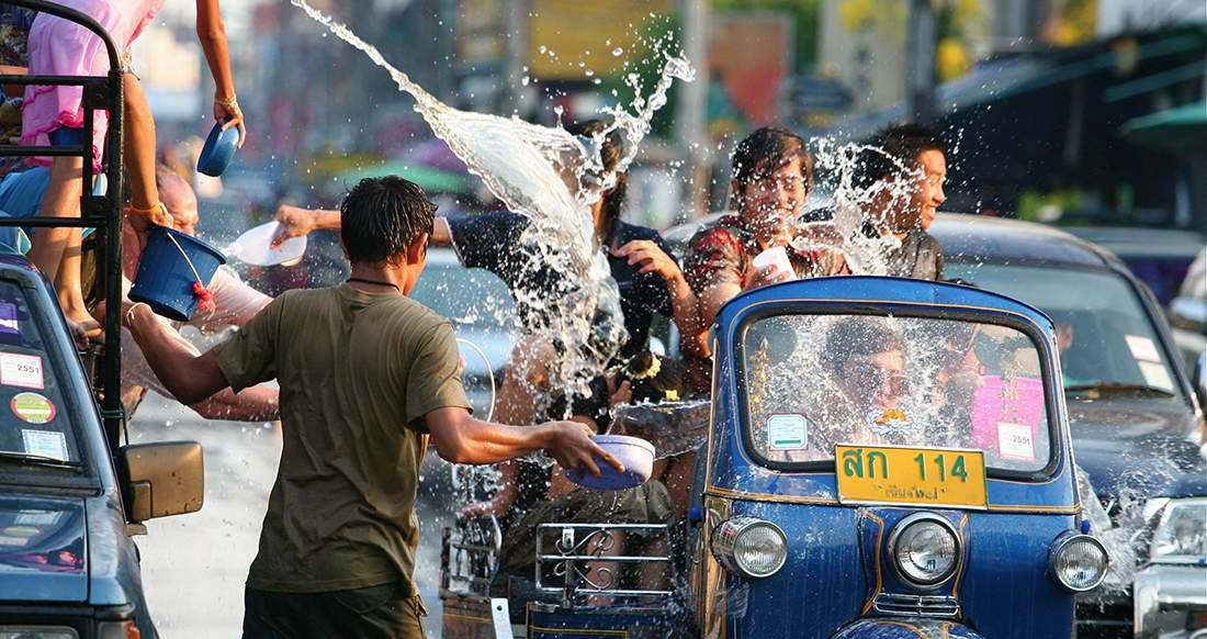 Songkran festival phuket thailand activity fan limited