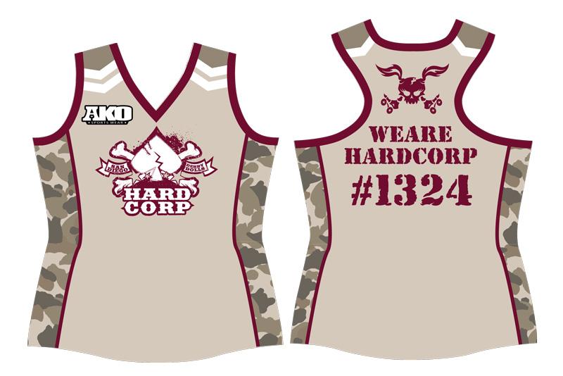 Final HardCorps Uniform Art
