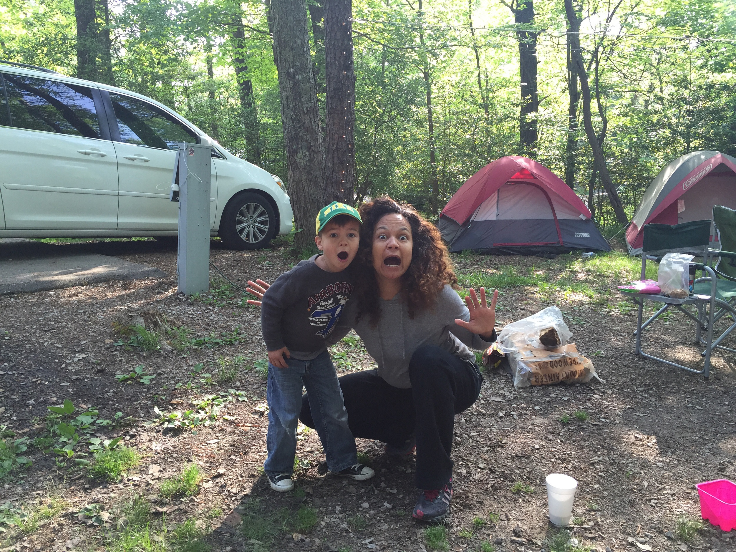 This little guy turned 5 on the camping trip!