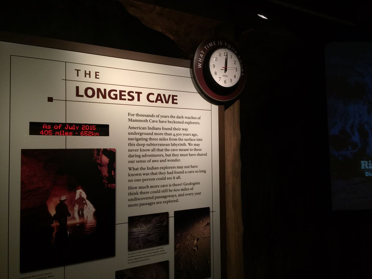 Make time for the cave museum before or after your tour.
