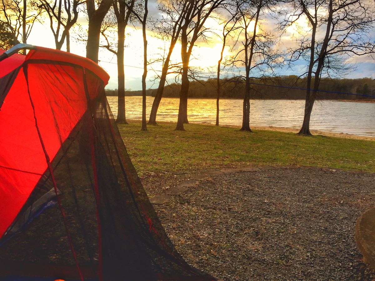 Stress-free and gluten-free camping tips, ThoseCrazyNelsons.com