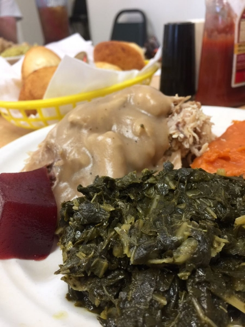 Turkey and dressing, The Downtowner Restaurant
