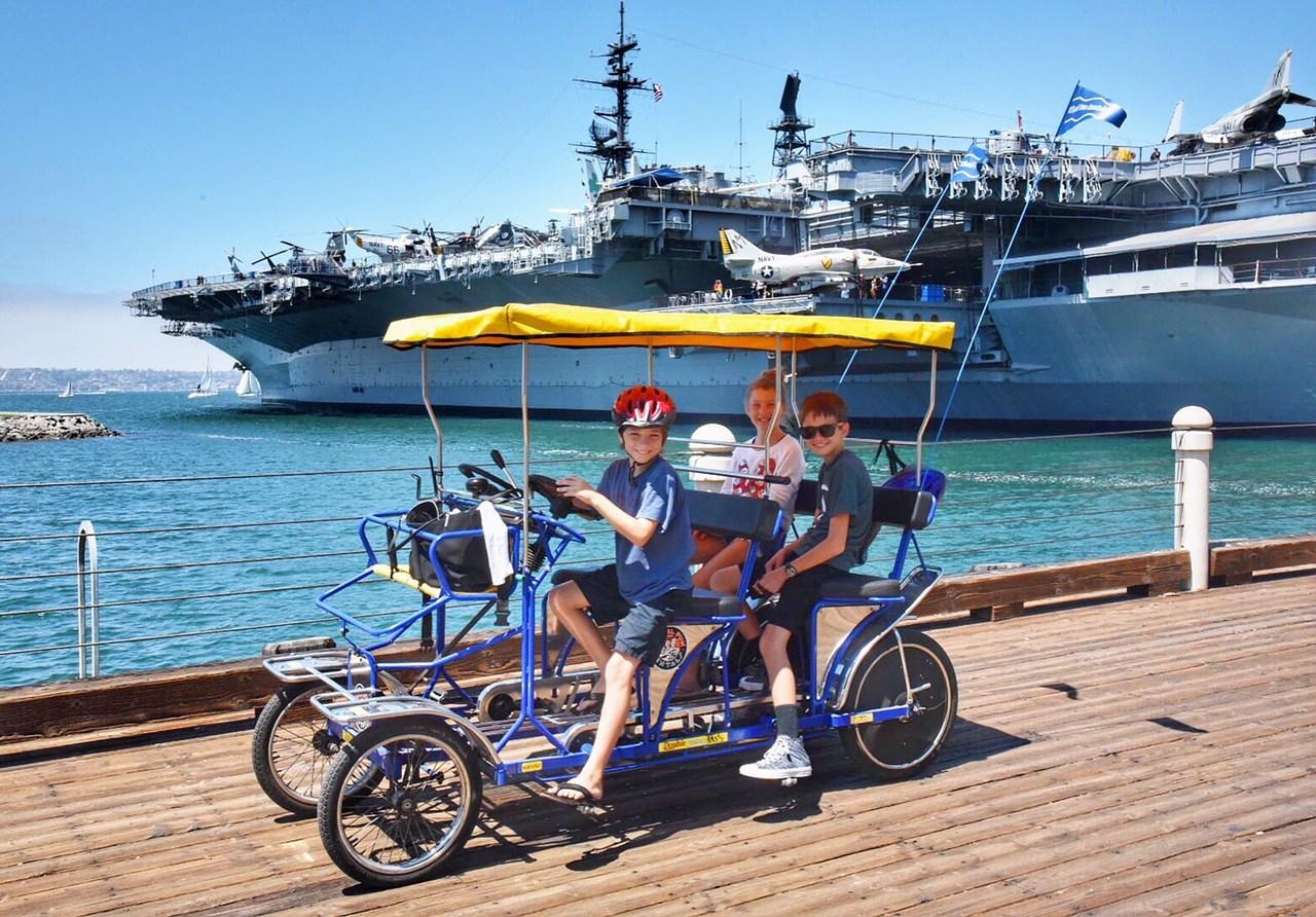 USS Midway, Photo courtesy, OC Mom Blog