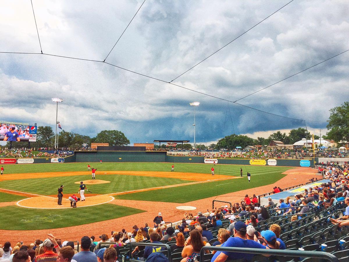 COLA Fireflies Baseball Game, Columbia, SC